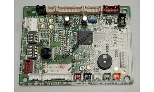Fujitsu ROT-24LA Air Conditioning Indoor Unit Control Board